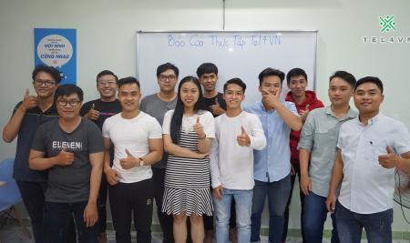 Sinh viên Đại học Hutech báo cáo thực tập tại TEL4VN