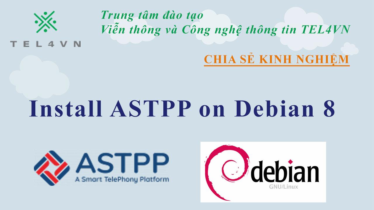 Cài đặt phần mềm ASTPP