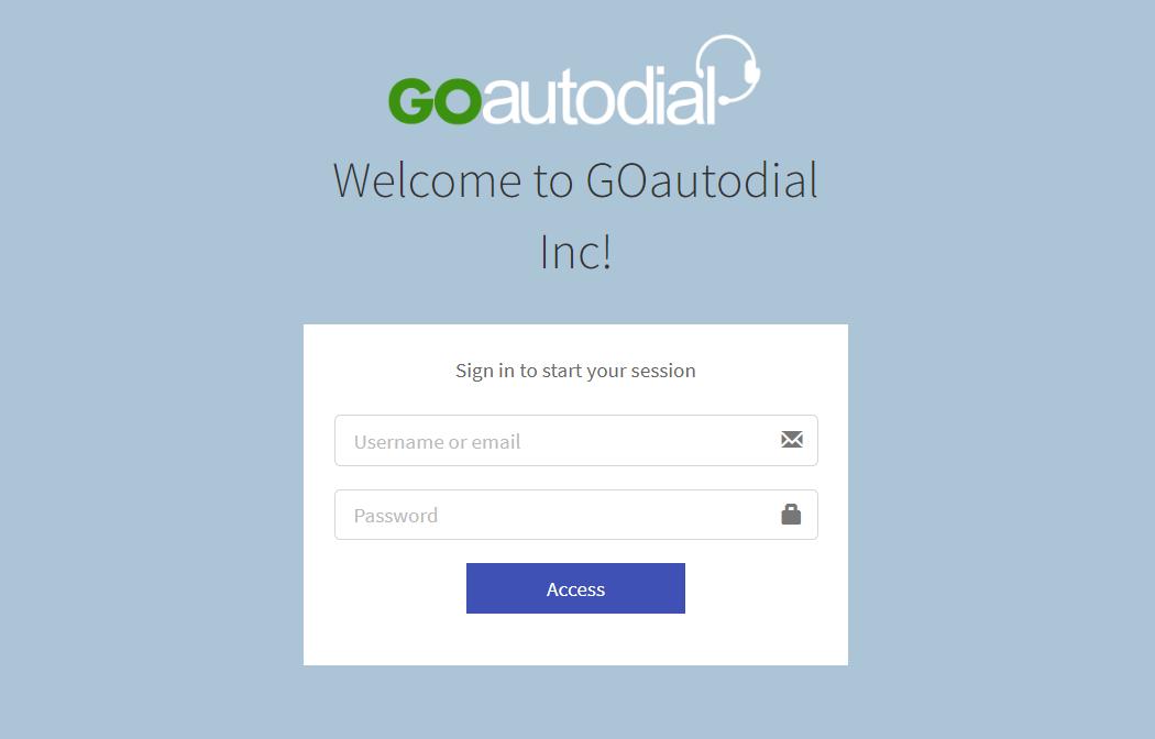Cài đặt Goautodial
