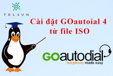 Cài đặt Goautodial 4 từ file ISO
