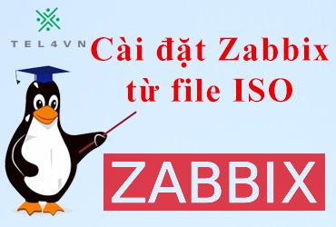 Cài đặt Zabbix 4.4 từ file ISO