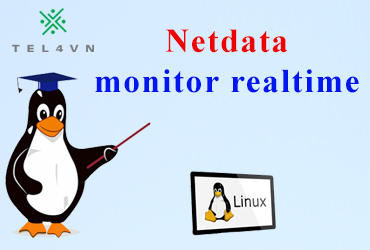 Phần mềm monitor realtime Netdata