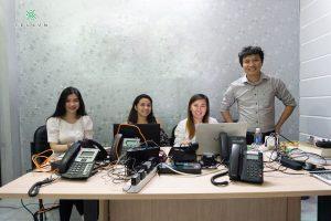 Đại diện MacroTech USA, Team CS đến từ Philippin