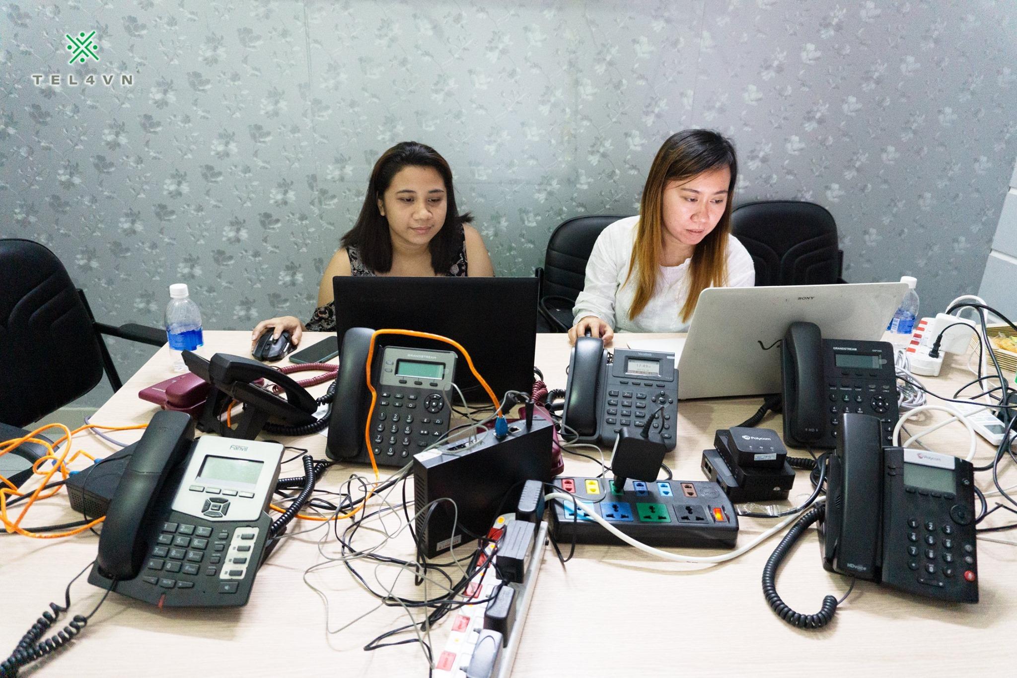 đào tạo VoIP theo đặt hàng của đối tác MacroTech USA, với học viên đến từ Team CS Philippines.