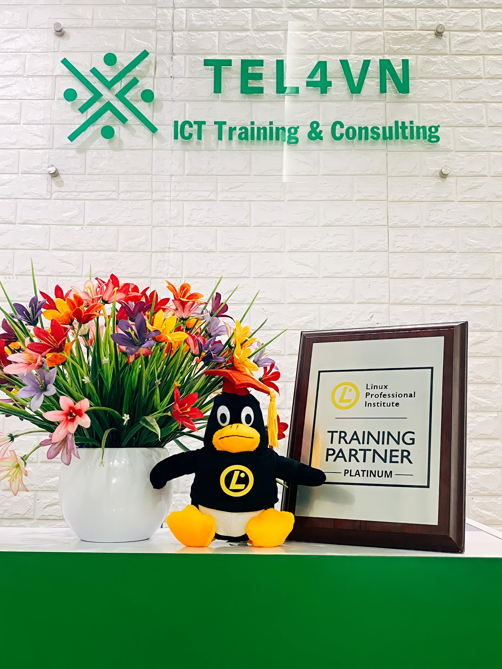 TEL4VN - đối tác đào tạo Linux tại Việt Nam